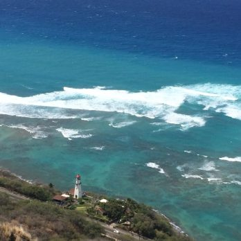 """Diamond Head Lighthouse (Oahu, Hawaii) - still the most breathtaking view ever!"" - Member Michele F."