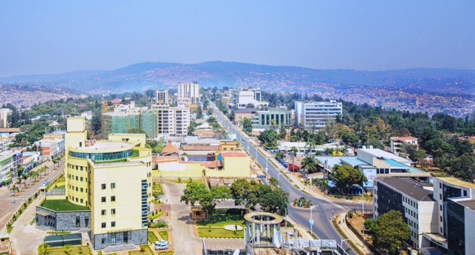 business district kigali, Rwanda
