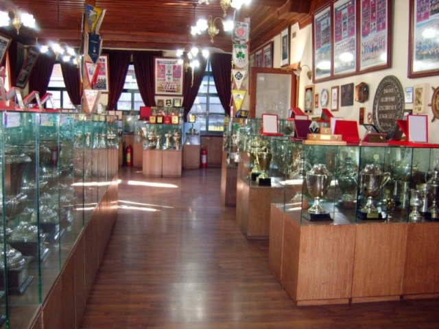 Trabzonspor's trophy room. Creative commons.