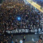"""""""¡Renuncia, Carrie Lam!"""": Dos millones se alzan otra vez contra ley de extradición de Hong Kong"""