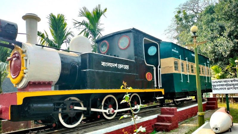 Part of history: The first narrow gauge train was launched on 14th February 1896 for the Rupsha-Bagerhat route. Image by Rajib Hossain via Bangladesh Railway Fan Page. Used with Permission.