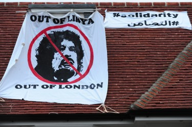 Squatters moved in to Saif Gaddafi's house in North London