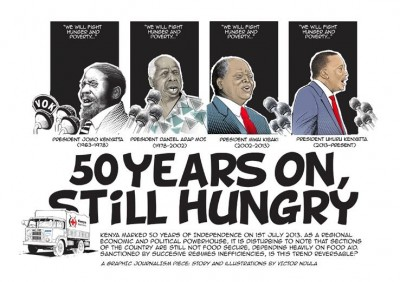 """50 years on, still hungry."" Discuss. #KenyaAt50 pic.twitter.com/juzrwnlroq"