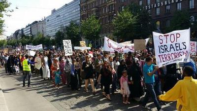 Helsinki, Finland - July 12, 2014.
