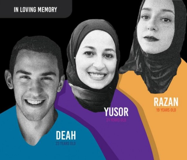 A tribute to Deah Barakat and Yusor and Razan Abu-Salha, by @_mz_cool