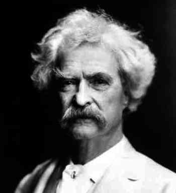 Mark Twain Weighs in on the Global Warming Debate