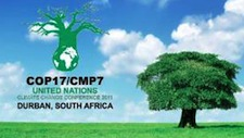 The COP 17 climate conference is now underway in Durban, South Africa