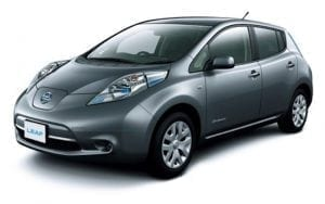 Nissan lowers price for Electric Vehicles