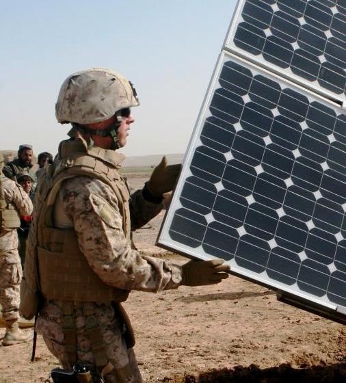Army, Navy & Air Force Tap Mosaic's Solar Crowdfunding Platform for Joint Base Residential Rooftops