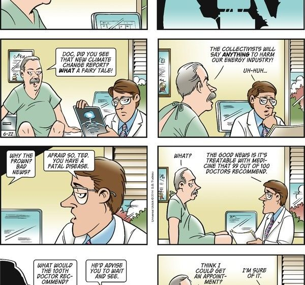Doonesbury on Climate Change – Can I Get a Second Opinion?