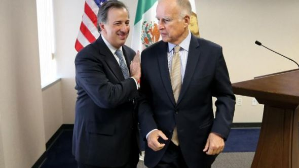 California and Mexico agree to cooperate on climate change and clean tech