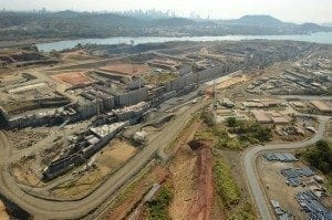 Panama Canal extension and drought conditions