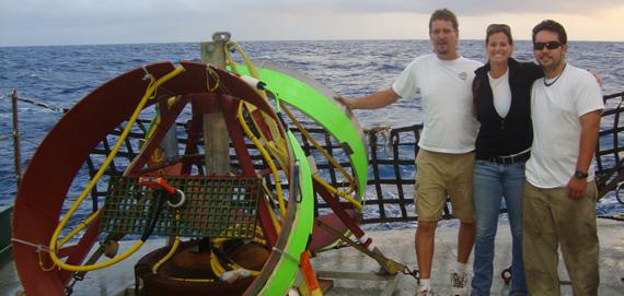 Ready to deploy an undersea sensor