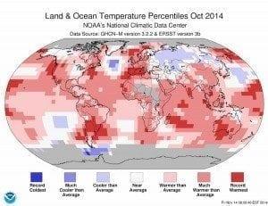 2014 Warmest October on Record