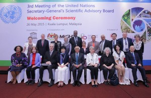 UN Secretary-General Scientific Advisory Board meet to outline key Sustainable Development Goals