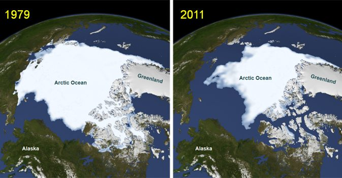 Arctic Sea Ice Loss Raises Prospect of a Colder Europe