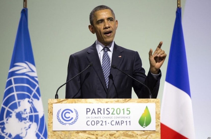 Reaction to Obama Speech at Opening of COP21