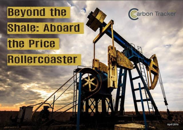Carbon Tracker examines the growing risk of fossil fuel investments