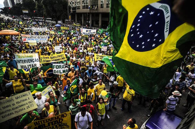 Political unrest in Brazil