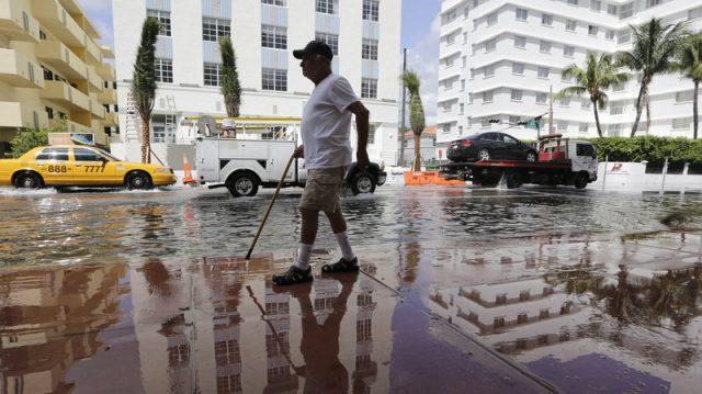 Sunny day floods portend ever rising seas