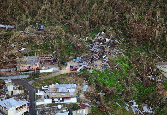 Hurricane Maria devastates Puerto Rico