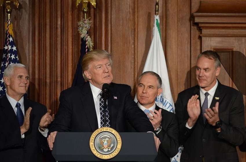 Interior Secretary and EPA Chief Do Trump's Dirty Environmental Bidding