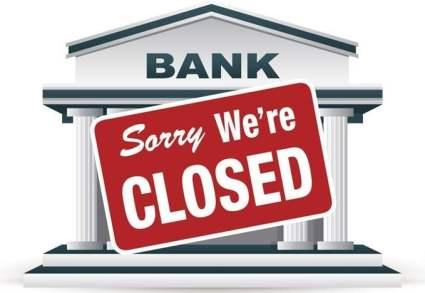 banks close
