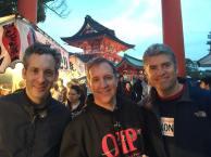 Brandon Garret, Mark Godsey and Justin Brooks, three representatives from the U.S.