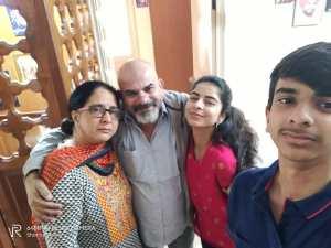 Siddhi Mahajankatti Family