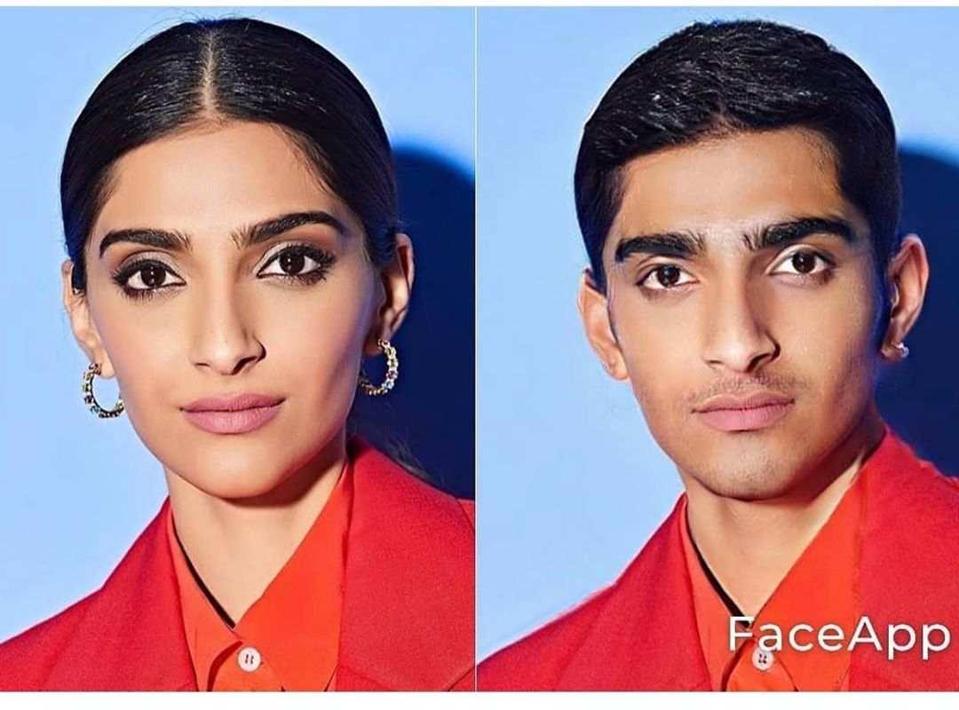 Sonam Kapoor Male Version