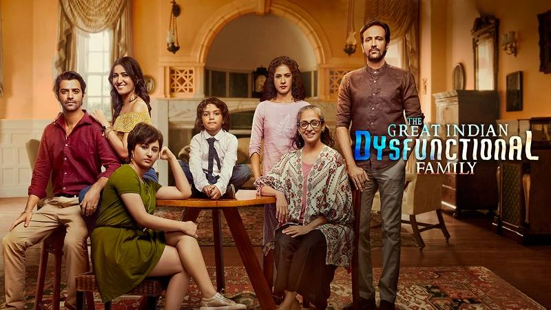 The Great Indian Dysfunctional Family (Hindi Web Series)
