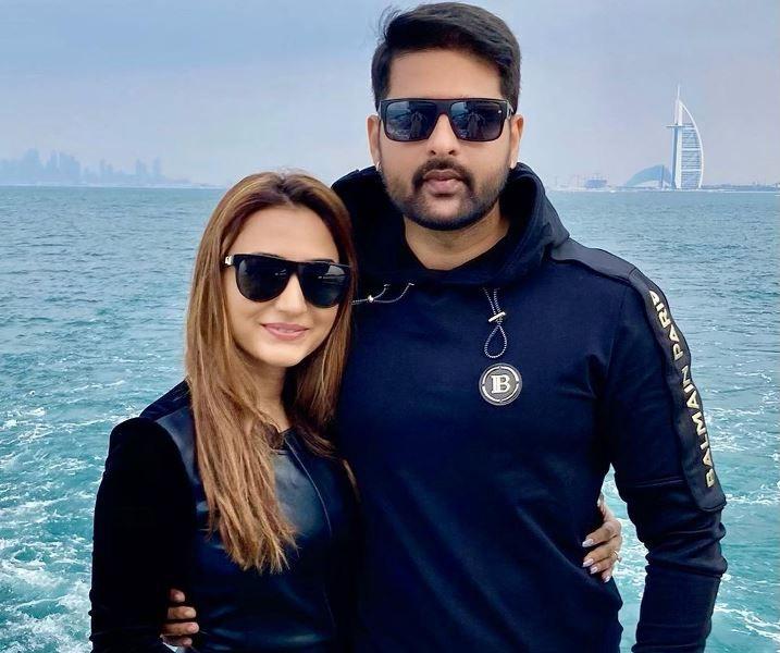Dhriti Saharan With Her Husband