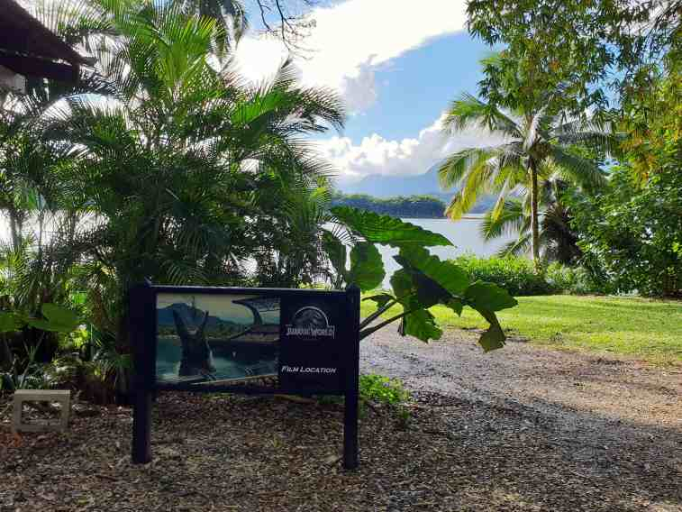 Ancient fish pond featured in Jurassic World on Kualoa Ranch, Oahu