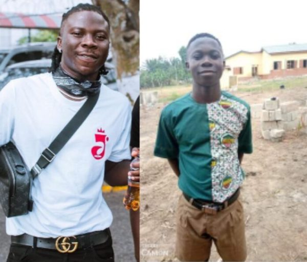 Stonebwoy Reacts To The Student With 'Bhim' Uniform