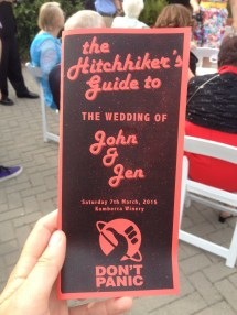 Perfection in wedding guides