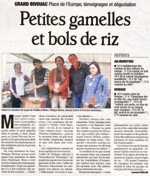 Le Dauphiné Libéré Albertville (73) Octobre 2009