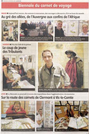 La Montagne Clermont-Ferrand (63) Nov 2009