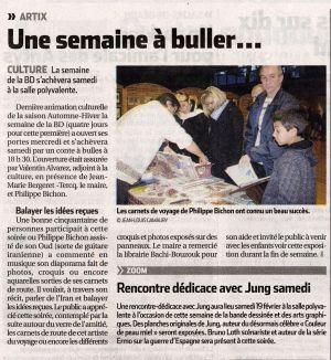 La République des Pyrénées Artix(64) Novembre 2011