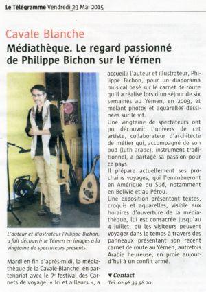 Le Télégramme Brest (29) Mai 2015