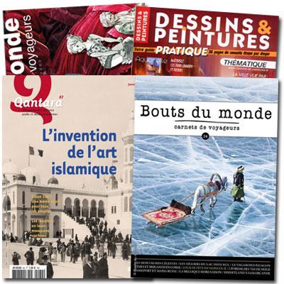 4 magazines