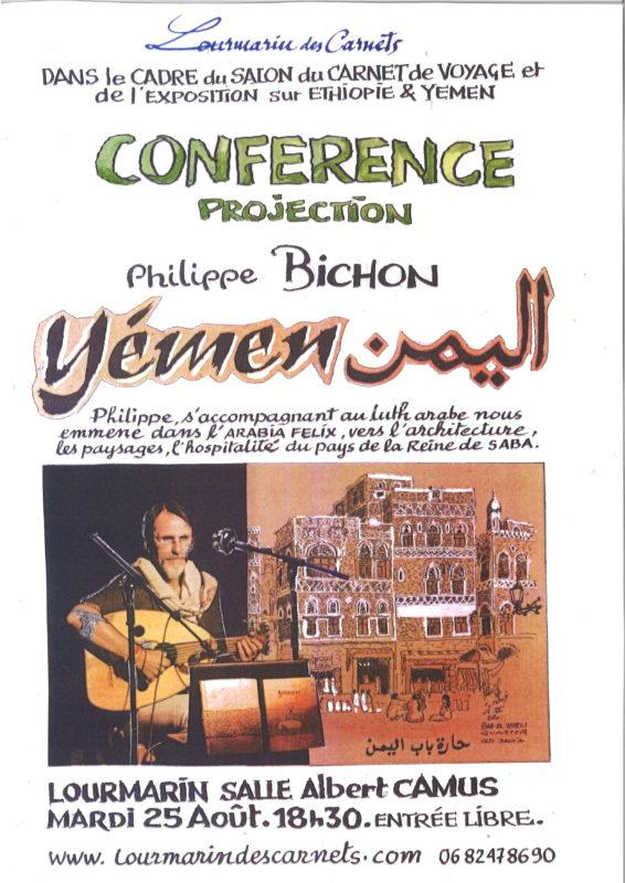 affiche diaporamoud Yemen Lourmarin