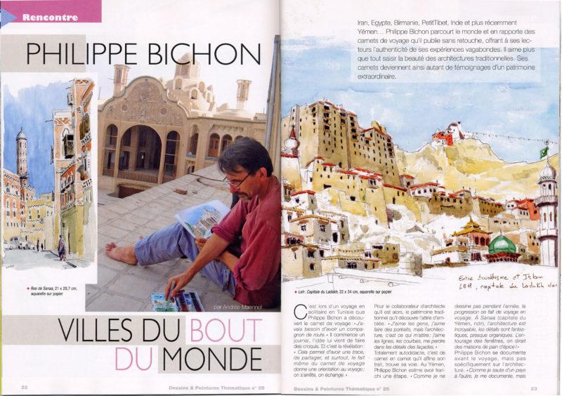 magazine dessins & peintures 1
