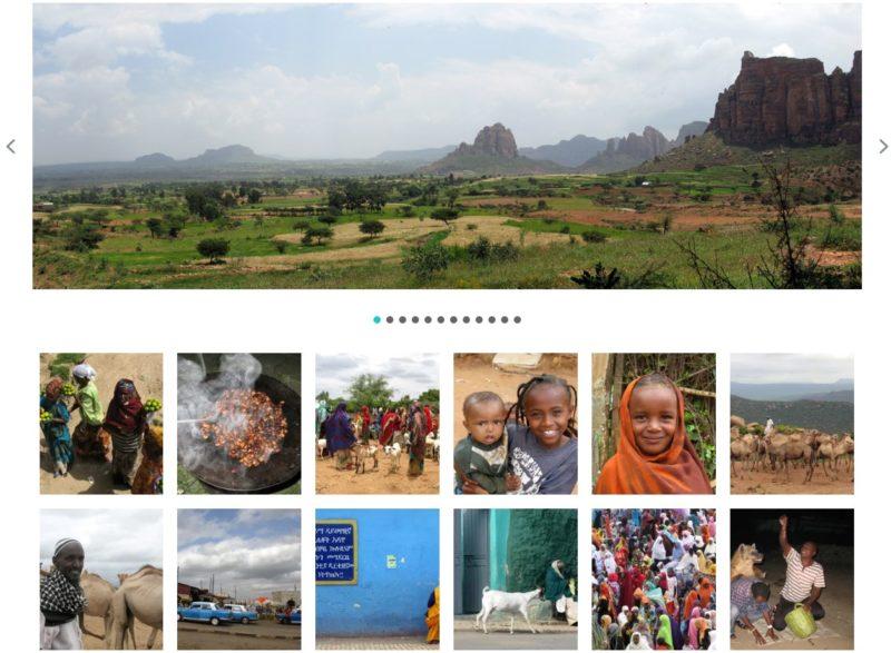 présentation photos Ethiopie