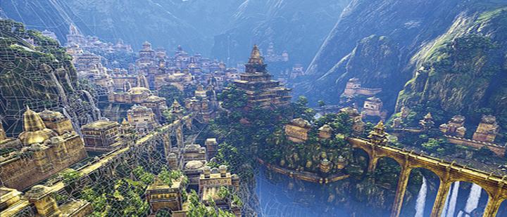 Resultado de imagen de El mundo perdido de Agharta