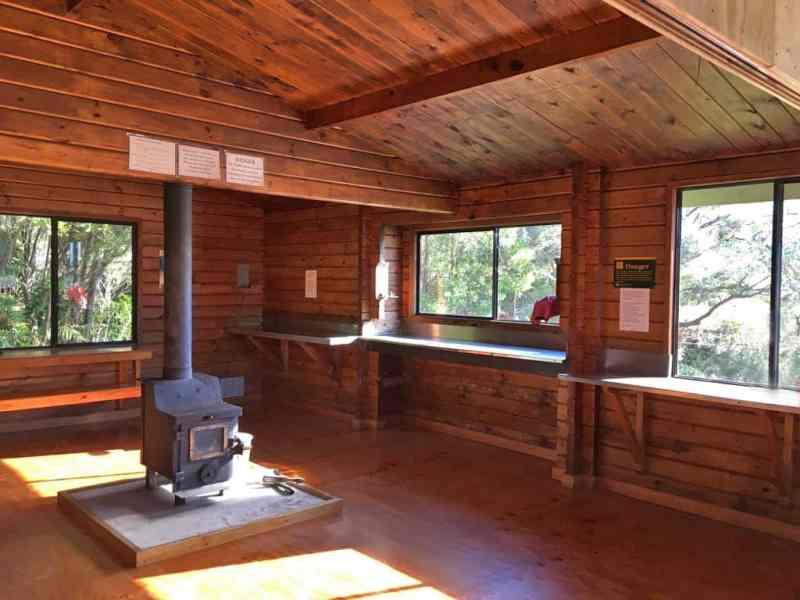 Hut dans le parc national Abel Tasman en Nouvelle Zélande
