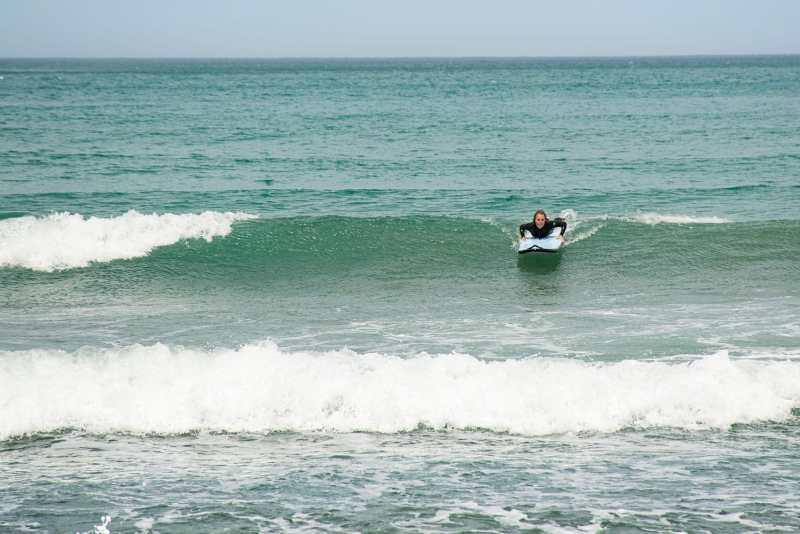Faire du surf à Christchurch