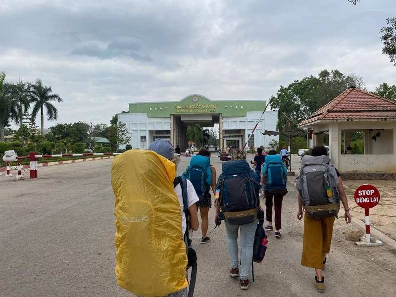 Frontière Vietnam Cambodge à Ha Tien
