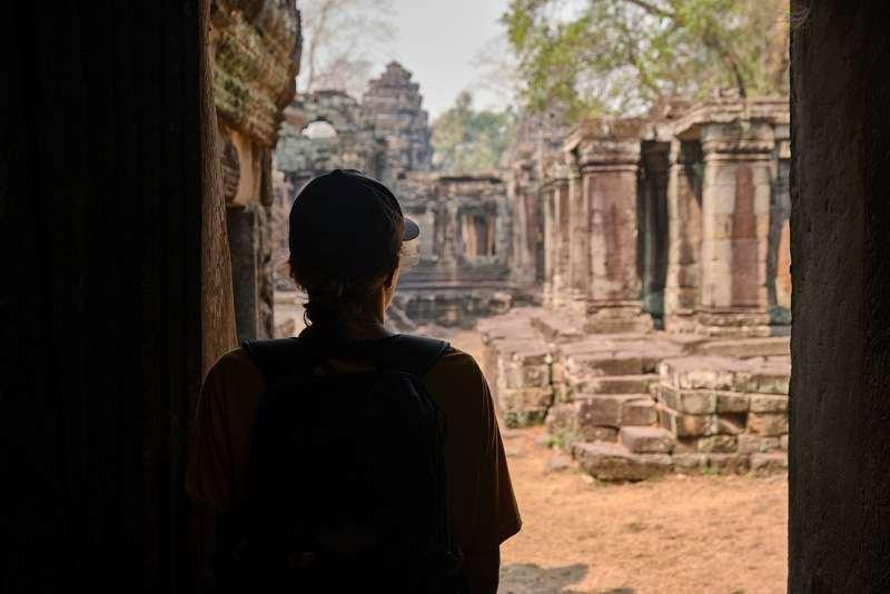 Temples d'Angkor à vélo