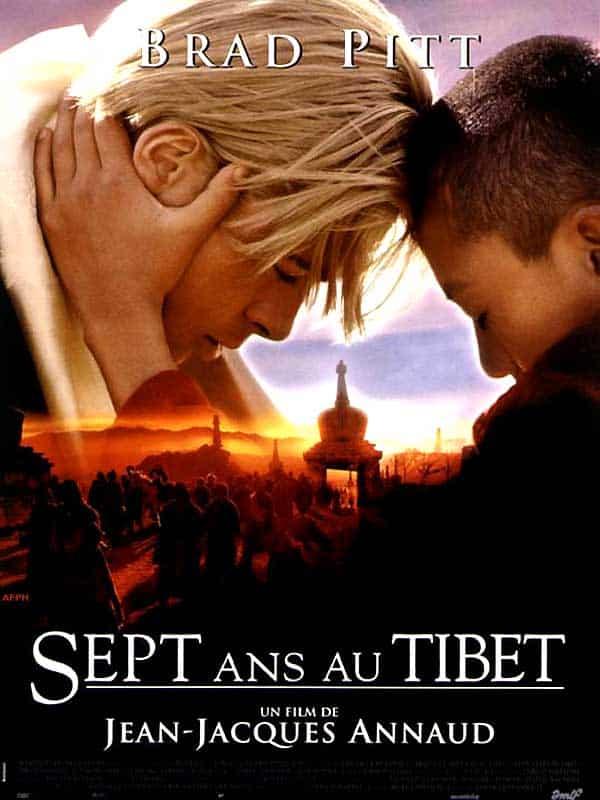 film sur le voyage : 7 ans au Tibet