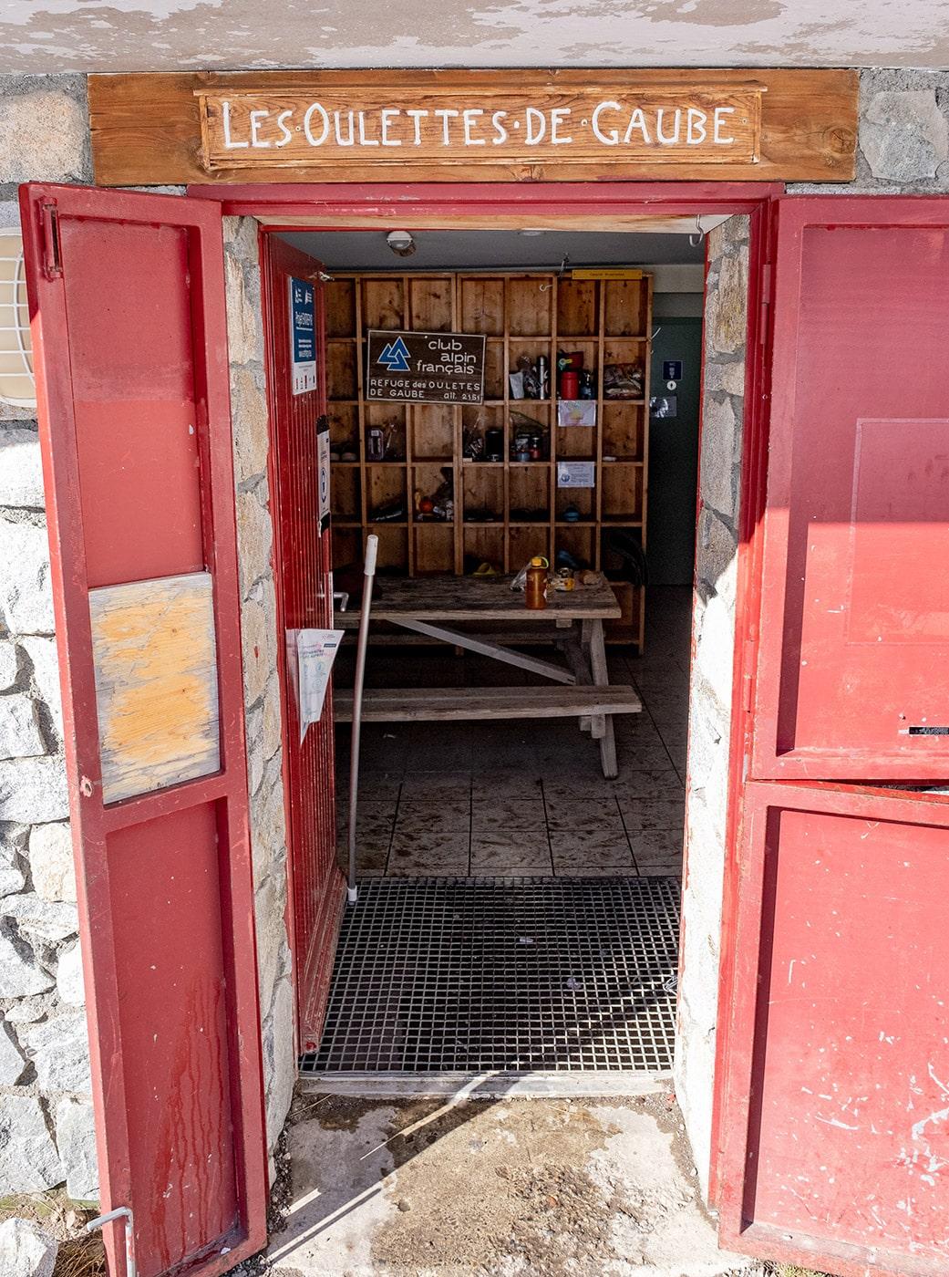 Refuge des Oulettes de Gaube dans les Pyrénées